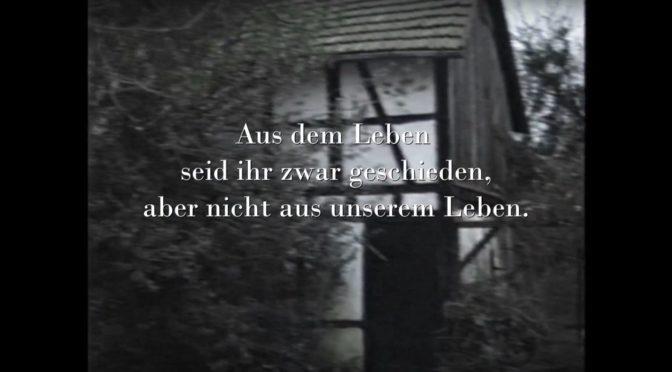 Gedenkfilm – Lückert trägt Euch immer im Herzen