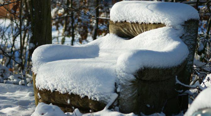 Eisiger Winter in Lückert