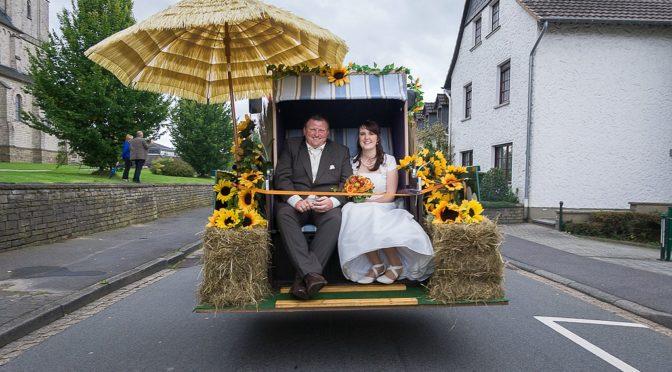 Jule und Andi feiern Hochzeit