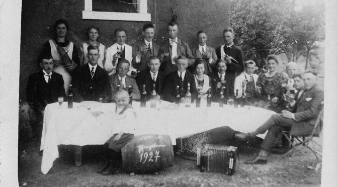 Neuauflage Pfingstfoto 1927