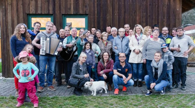 Mit dem WDR in Plittersdorf