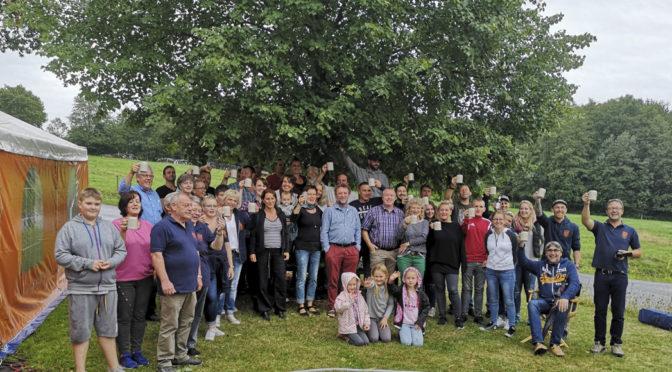Lindenfest – unsere Dorflinde wurde 20 Jahre alt!