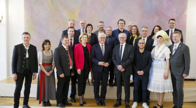 Empfang beim Bundespräsidenten Frank-Walter Steinmeier