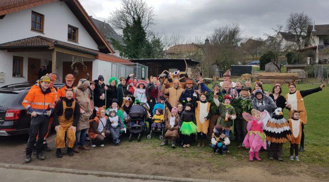Karnevalsumzug in Lind bei Plittersdorf